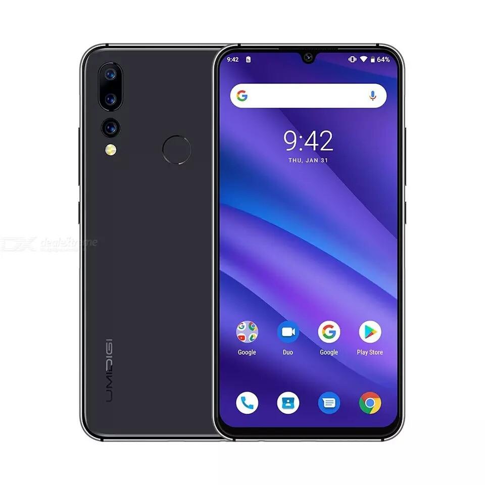Смартфон UMIDIGI A5 PRO BLACK And 9,0 4/32 экран 6,3 FHD Новые в наличии
