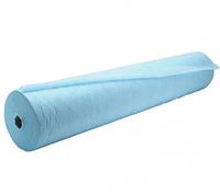Простыни20гр0,6*200мСМСбелые/голубые