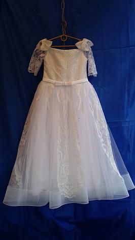 Підліткове ошатне плаття для дівчинки р. 9-10 років опт, фото 2