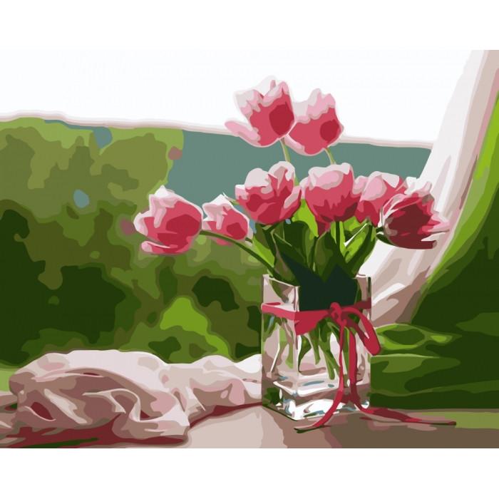 Картина по номерам Идеальное утро КНО2913 40x50см Идейка