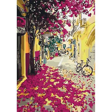 Картина по номерам Яркая Греция КНО3509 40x50см Идейка, фото 2