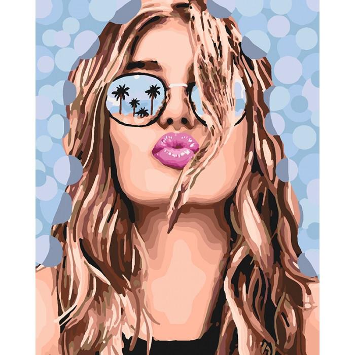 Картина за номерами Поцілунок літа КНО4564 40х50см Ідейка