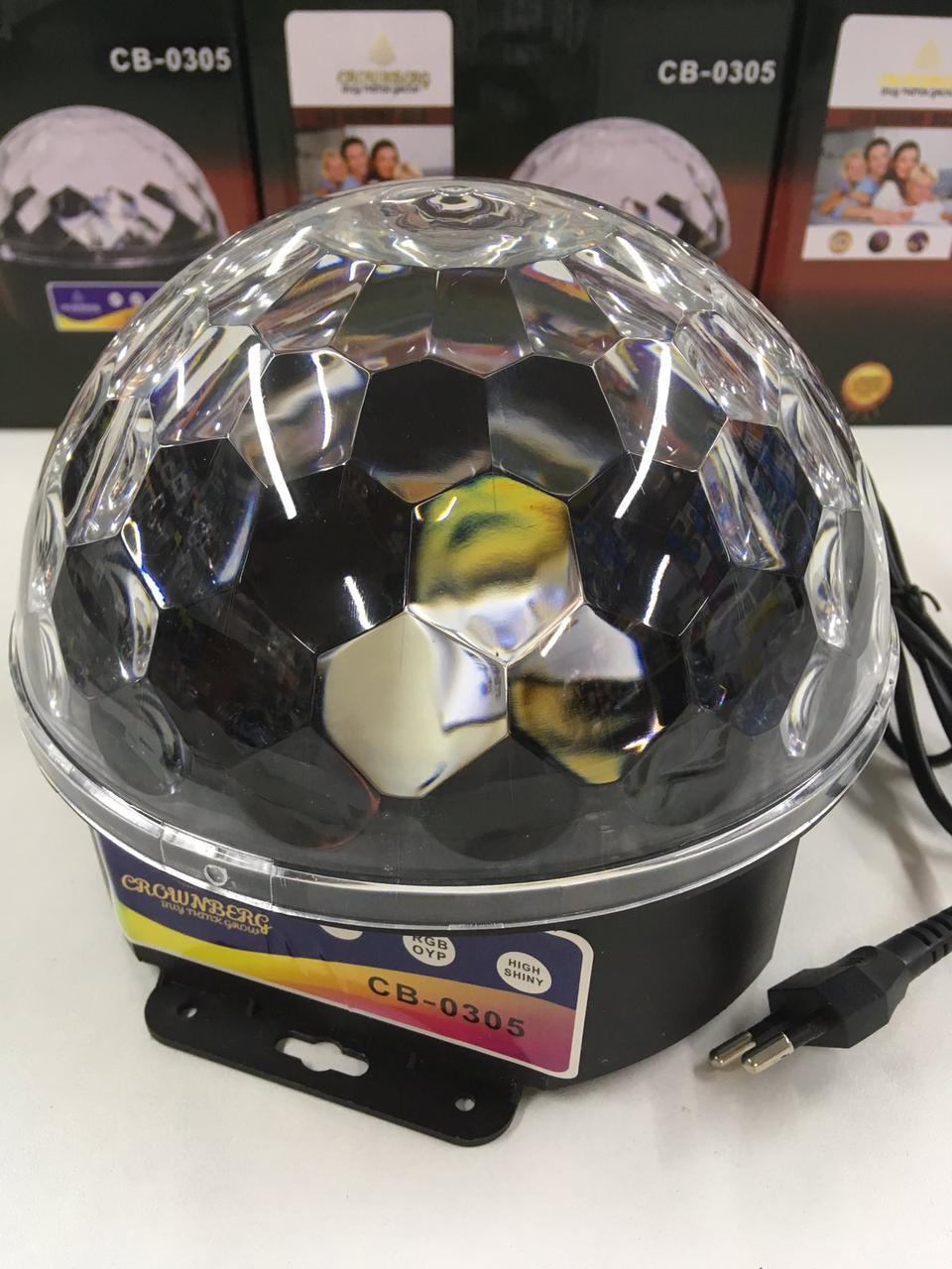 Диско-куля Musik Ball+USB MP-3 CB-0305 (20 шт/ящ)