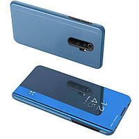 Чехол-книжка Clear View Standing Cover для Xiaomi Redmi Note 8 Pro Синий