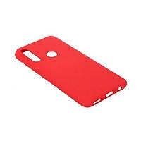Накладка для Huawei P Smart Z силікон BeCover Matte Slim TPU Red