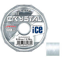 Леска рыболовная Dragon Crystal Nano Ice 40м 0,1мм 1,45кг (PDF-32-42-010)
