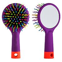 """Детская щетка для волос с зеркальцем """"Redberry"""" (28-6)"""