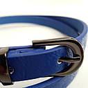 Жіночий пояс Stradivarius blue, фото 3