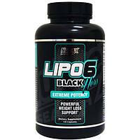 Жиросжигатель Lipo-6 Black Hers Nutrex 120 капсул