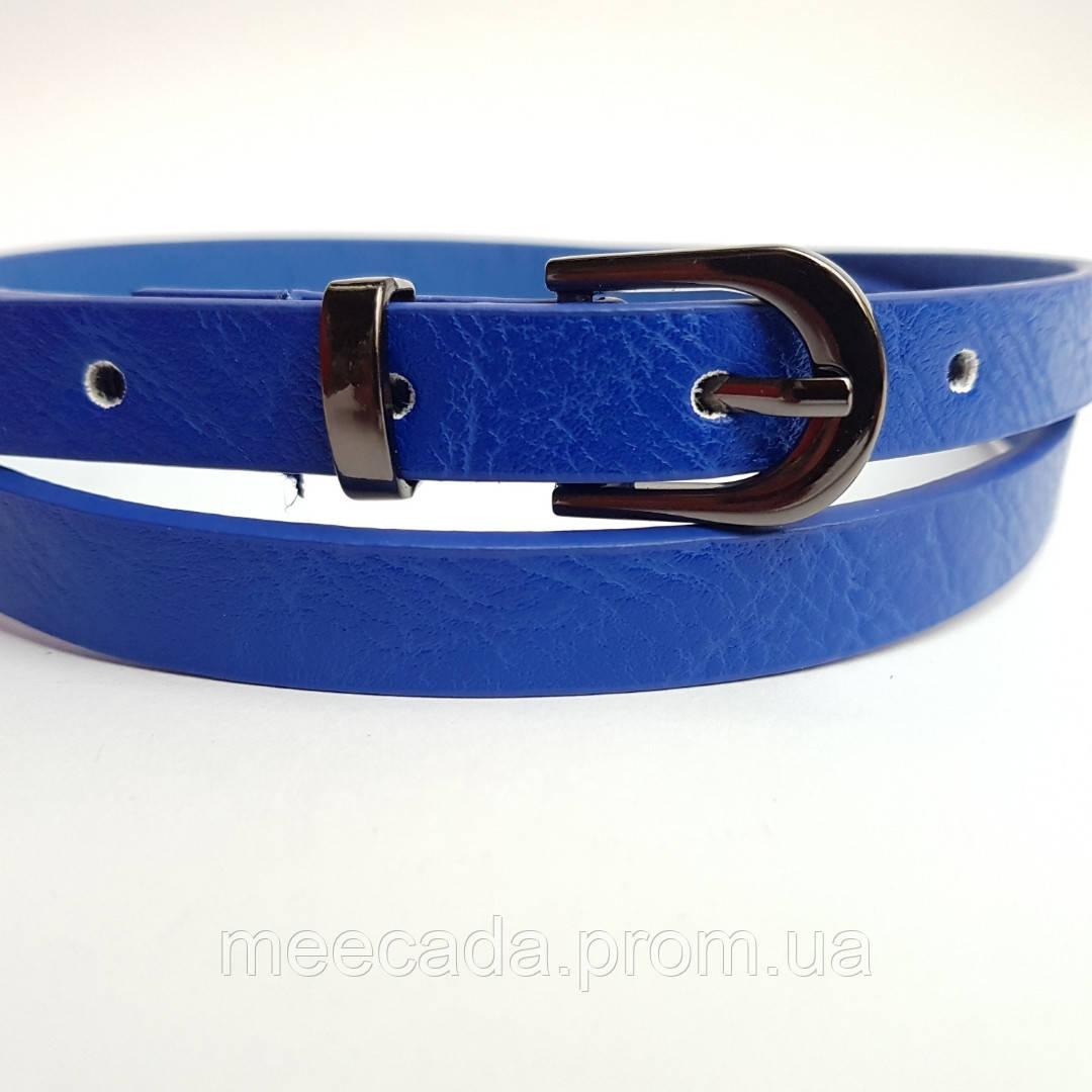 Жіночий пояс Stradivarius blue