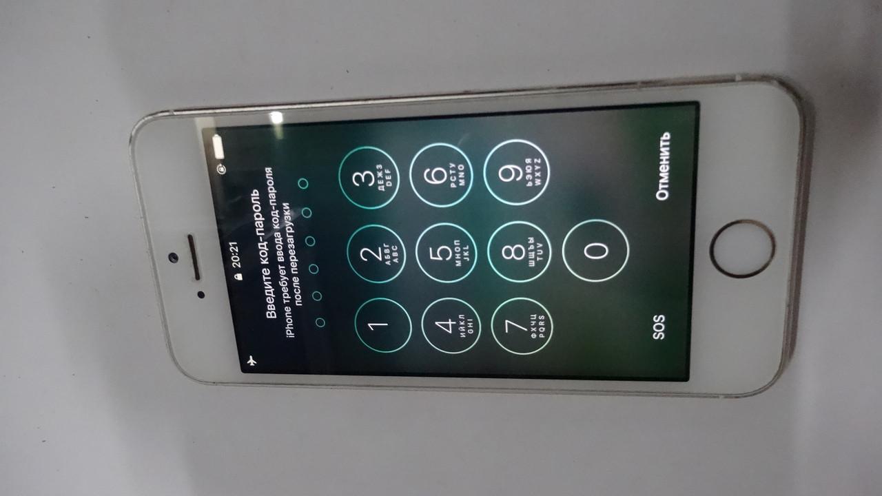 Iphone 5s 16gb золото на пине №100802