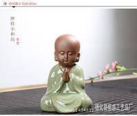 Китайский Монах статуэтка сувенир 11х7см, фото 1