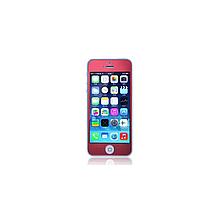 Защитное cтекло Remax для Apple iPhone 5/5S/5C Colorful Red, 0.2mm, 9H