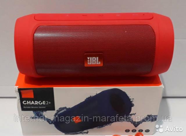 Акустическая Колонка JBL Charge 2+ Bluetooth c USB и MicroSD/ черная, зеленая, синяя, красная✅
