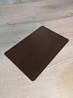 Подложка под торт прямоугольная. Подставка для торта.Прямоугольная.Венге25*35см.
