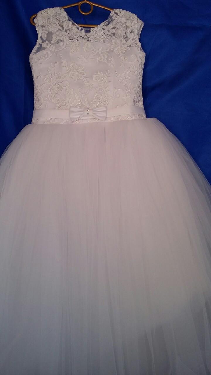 Платье нарядное для девочки р. 8-9 лет опт
