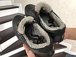 Мужские зимние кроссовки Colambia (черные), фото 2