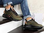 Мужские зимние кроссовки Nike Air Max 720 (темно-зеленые), фото 4