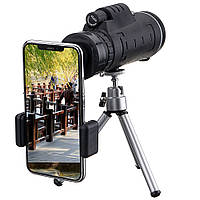 IPRee®40X60МонокулярОптическийHDТелескоп Объектив + Штатив + Зажим для мобильного телефона Xiaomi-1TopShop