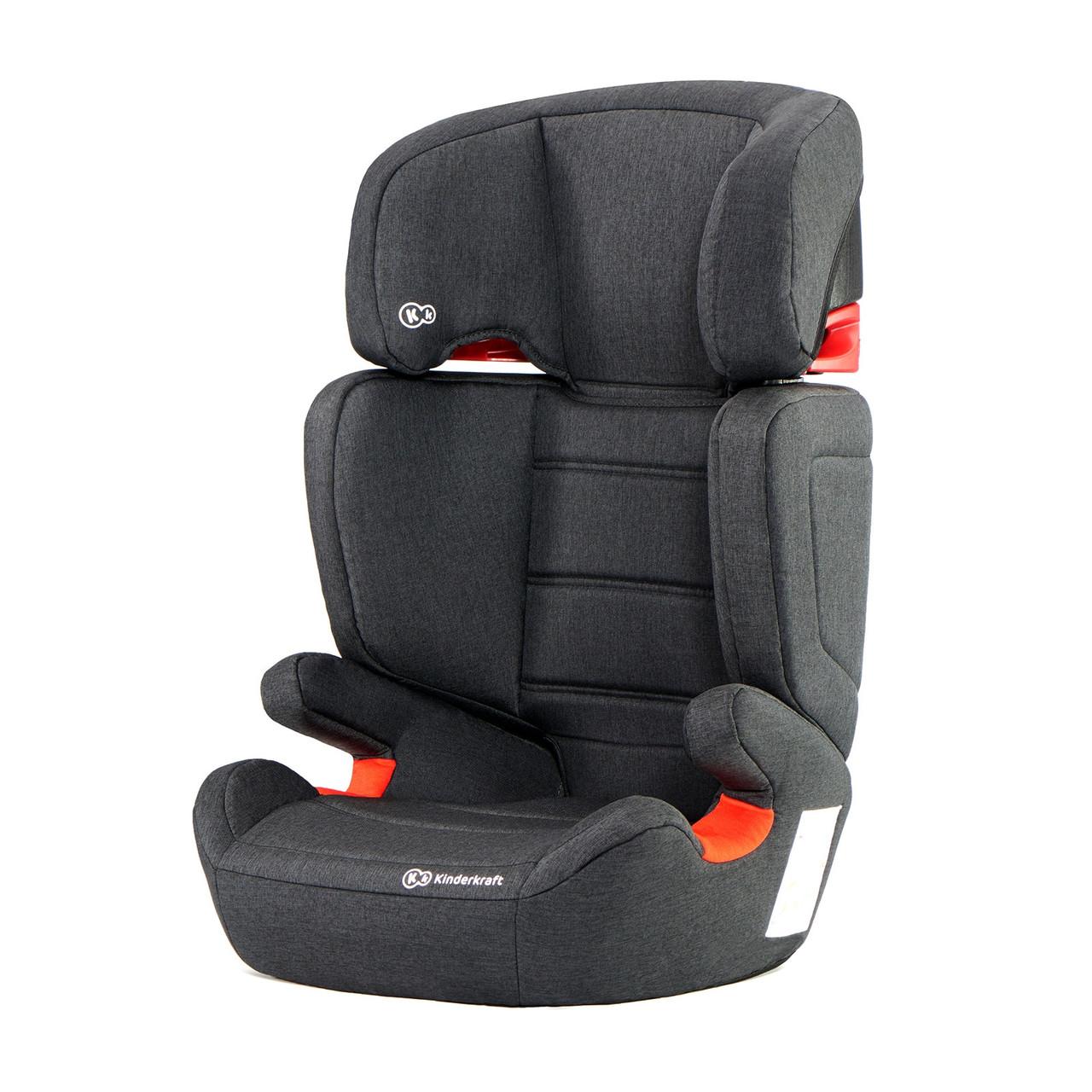 Автокресло для ребенка с регулировкой подголовника Kinderkraft Junior fix 9-36 кг