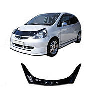 Дефлектор капота  Honda Fit с 2005-2008, Мухобойка Honda Fit