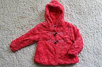Меховое пальтишко ( подкладка мех- травка ) 4- 12 лет
