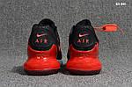 Мужские кроссовки Nike Air Max Flair 270 (черно-красные), фото 2
