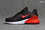 Мужские кроссовки Nike Air Max Flair 270 (черно-красные), фото 3