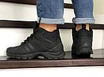 Мужские кроссовки Adidas Climaproof (черные) ЗИМА, фото 4