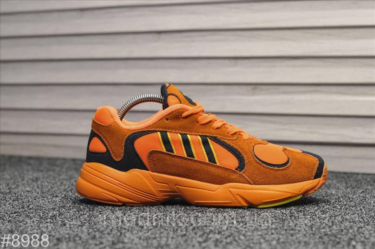 Мужские кроссовки Adidas Yung (оранжевые)