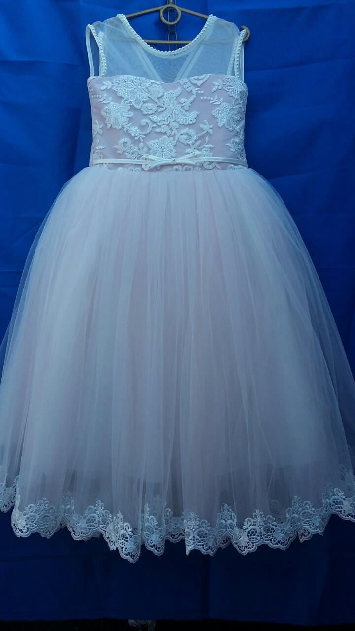 Платье нарядное для девочки р. 8-9 лет опт евро сетка