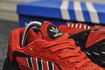 Мужские кроссовки Adidas Yung (красные), фото 3