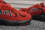 Мужские кроссовки Adidas Yung (красные), фото 5