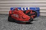Мужские кроссовки Adidas Yung (красные), фото 6