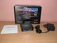 HDMI Splitter 1x2 Full 3D 2port HDMI V1.4 с блоком питания 5V, фото 1