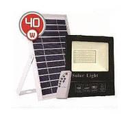 LED светильник 40Вт с солнечной панелью 18Вт, аккумулятор 12000мAч, пульт ДУ