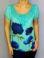 Блузка розы женская  Блузки оптом