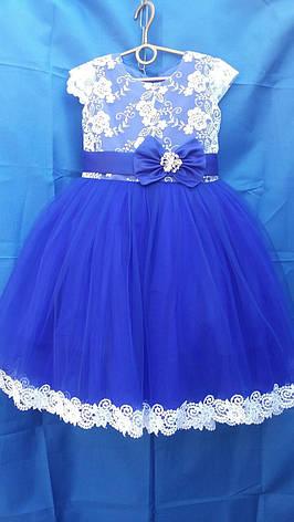 Детское платье для девочки р. 3-4 лет опт евро сетка, фото 2
