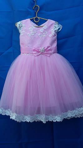 Дитяче плаття для дівчинки р. 3-4 років опт євро сітка, фото 2