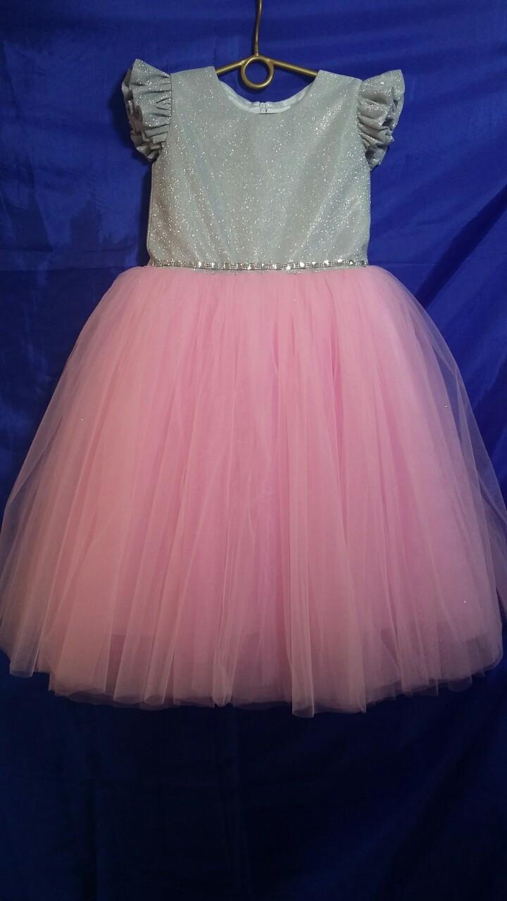 Детское платье для девочки р. 5-6 лет опт евро сетка