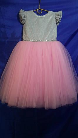 Детское платье для девочки р. 5-6 лет опт евро сетка, фото 2