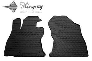 SUBARU Forester 2018- Комплект из 2-х ковриков Черный в салон