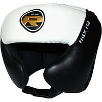 Боксерский шлем тренировочный RDX White, фото 1