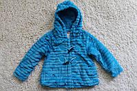 Меховое пальтишко ( подкладка мех- травка ) 4- года