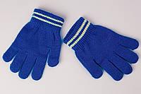 Бирюзовые детские перчатки