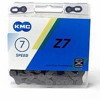 Цепь KMC Z7, 116L, GRBR (коричневый)