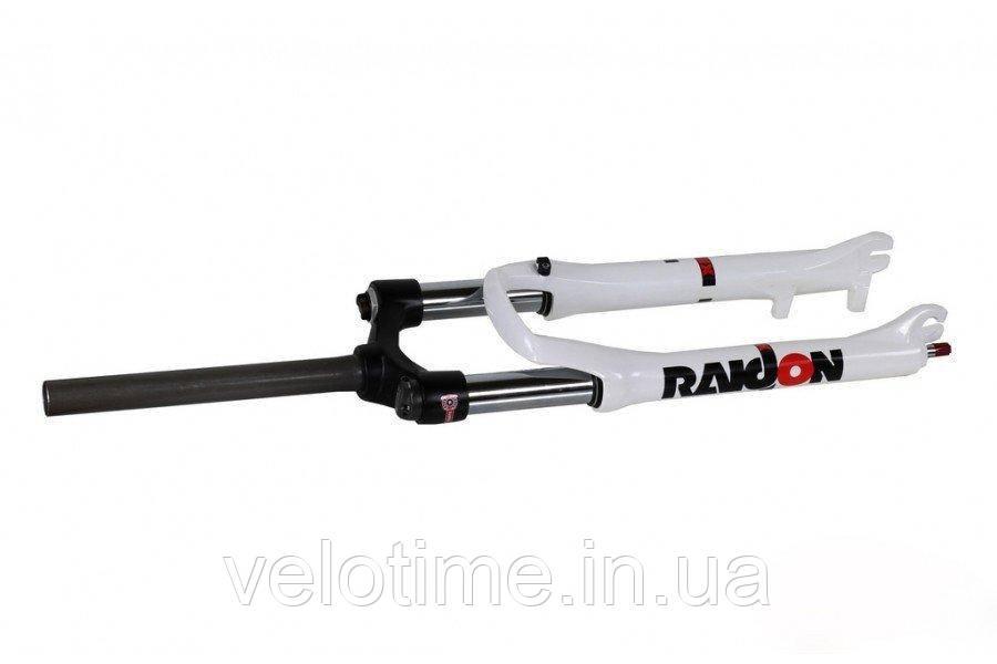 Вилка Suntour SF12 Raindon X3 COIL, 26, 100 (белый)