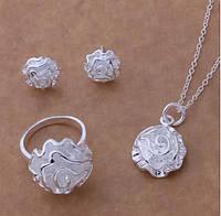 """Комплект """"Rose"""" 925 Sterling Silver"""