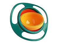 Тарелка-неваляшка Universal gyro  Зеленый