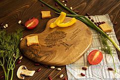 Доска ореховая «Камушек» L